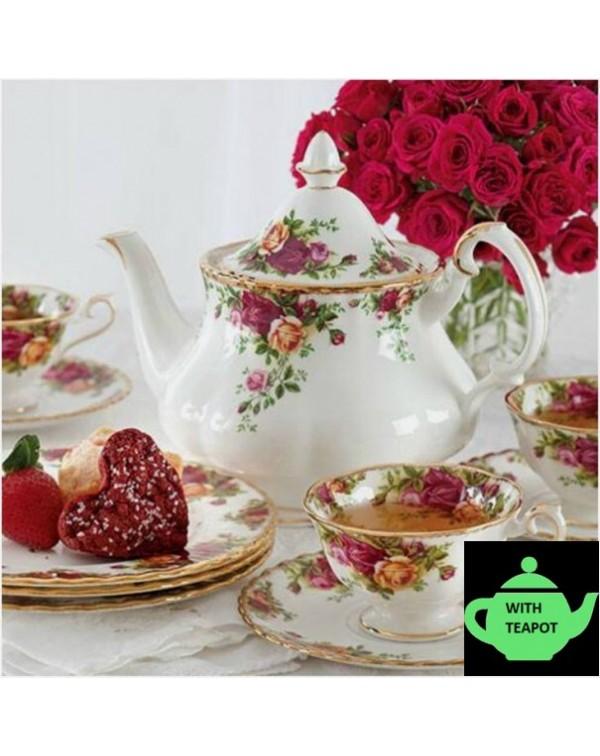 OLD COUNTRY ROSES AVON TEA SET