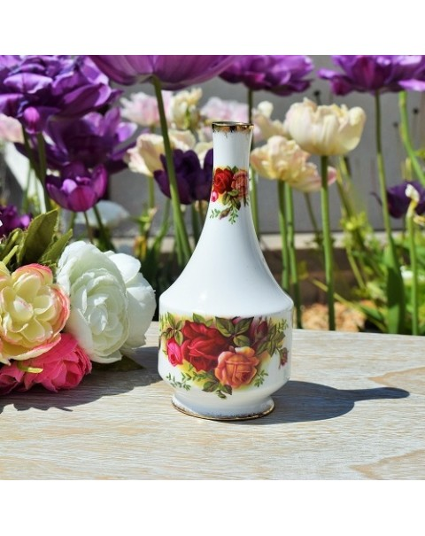 (OUT OF STOCK) OLD COUNTRY ROSES VINTAGE SMALL BUD VASE