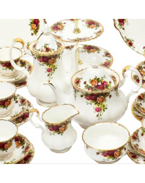 (OUT OF STOCK) COMPLETE OLD COUNTRY ROSES TEA SET ...