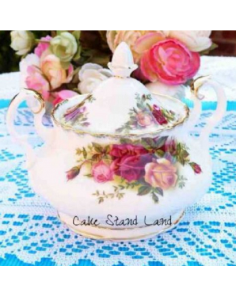 (SOLD) OLD COUNTRY ROSES TEA SET FOR TWO