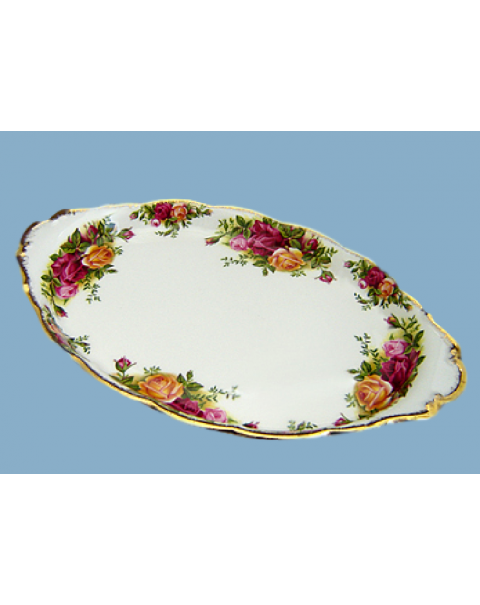 (OUT OF STOCK) OLD COUNTRY ROSES OVAL TRAY