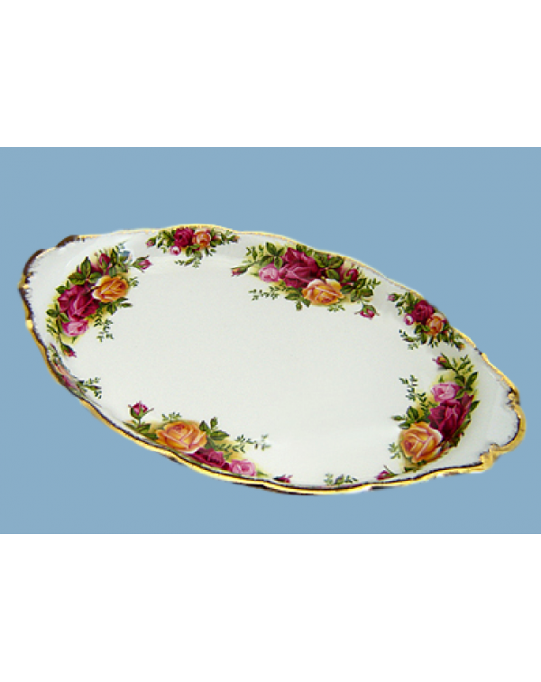 OLD COUNTRY ROSES OVAL TRAY