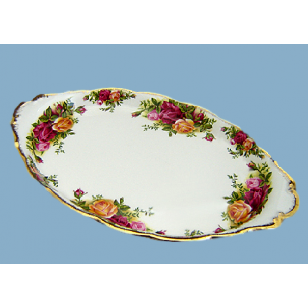 (SOLD) OLD COUNTRY ROSES OVAL TRAY