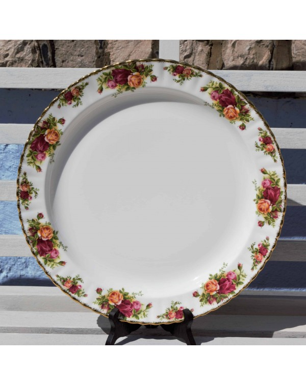 OLD COUNTRY ROSES VERY LARGE PLATE
