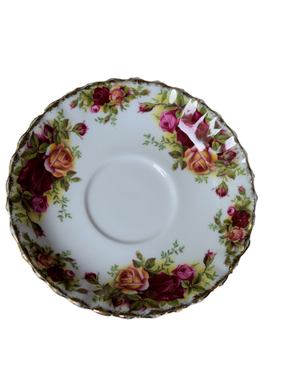 OLD COUNTRY ROSES CAREWORN SAUCER