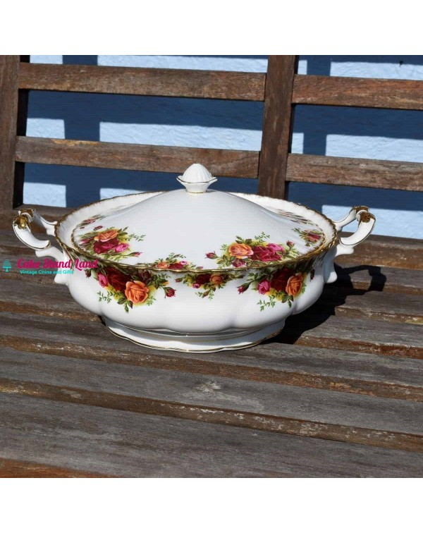 (SOLD) OLD COUNTRY ROSES TUREEN