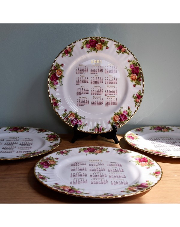 OLD COUNTRY ROSES CALENDAR PLATE