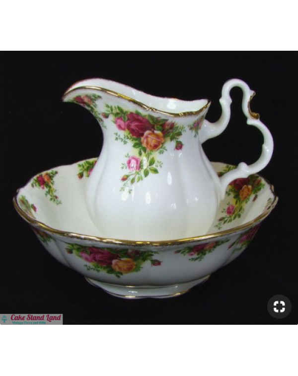 (OUT OF STOCK) OLD COUNTRY ROSES HUGE JUG & BO...