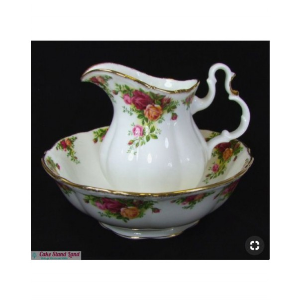 (OUT OF STOCK) OLD COUNTRY ROSES HUGE JUG & BOWL