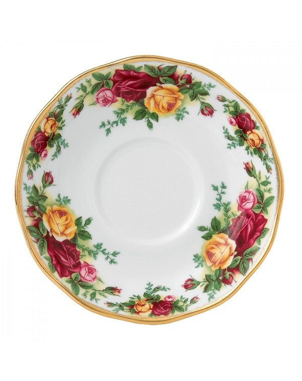 ROYAL ALBERT OLD COUNTRY ROSES AVON SAUCER