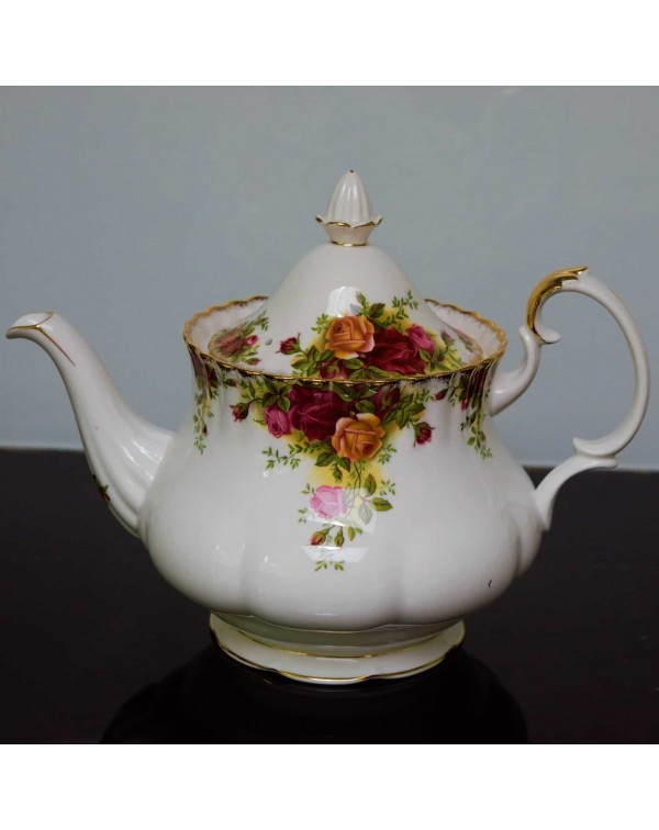 (SOLD) OLD COUNTRY ROSES TEAPOT LARGE