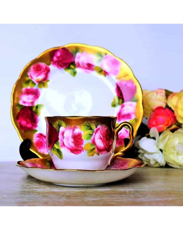 (OUT OF STOCK) ROYAL ALBERT OLD ENGLISH ROSE TEA T...