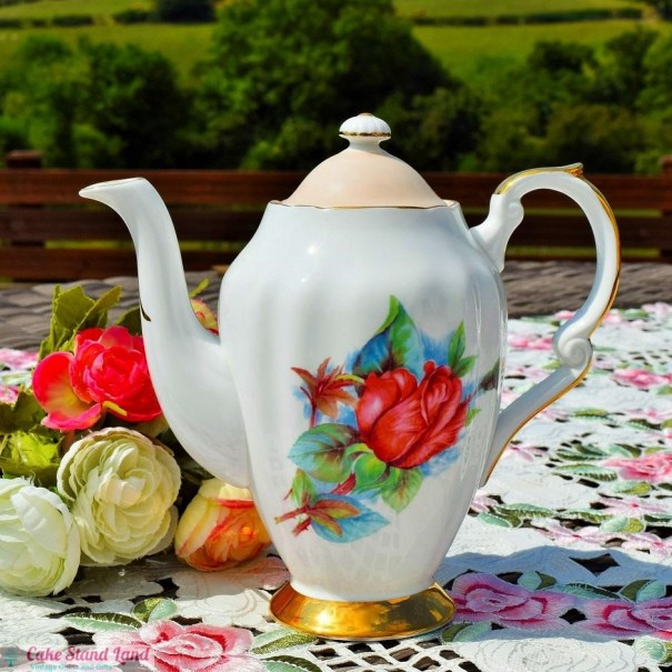 (OUT OF STOCK) PARAGON HARRY WHEATCROFT RENDEZVOUS COFFEE POT