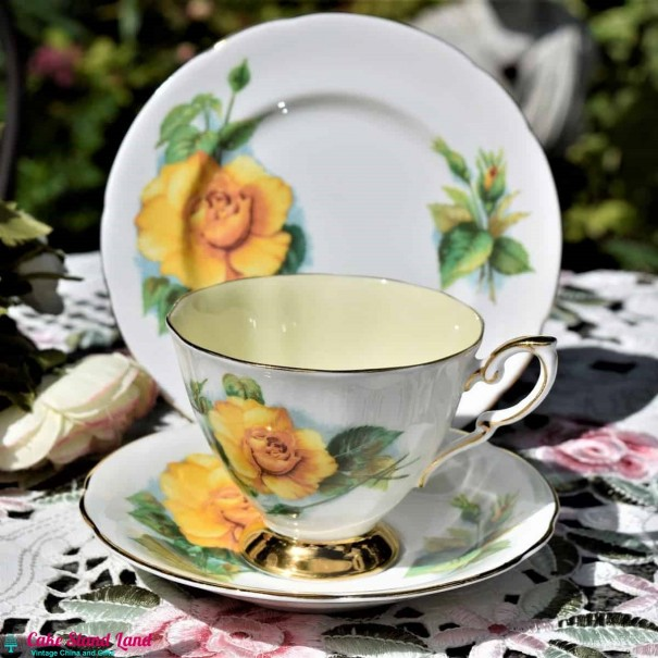 HARRY WHEATCROFT TEA TRIO MME CH SAUVAGE