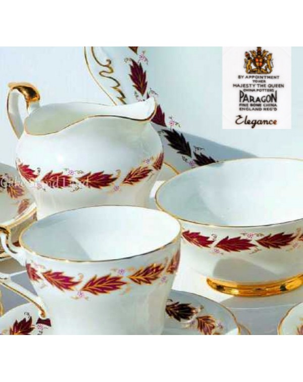 (OUT OF STOCK) PARAGON ELEGANCE TEA SET
