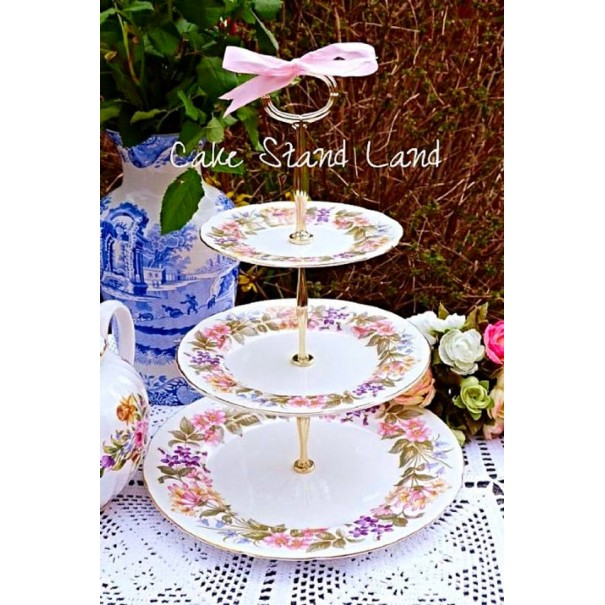 (SOLD) PARAGON COUNTRY LANE CAKE STAND