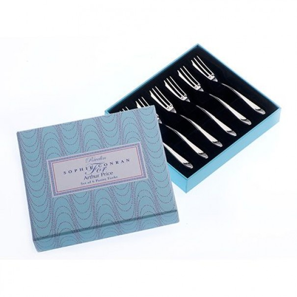 (SOLD) SOPHIE CONRAN BOXED PASTRY FORKS