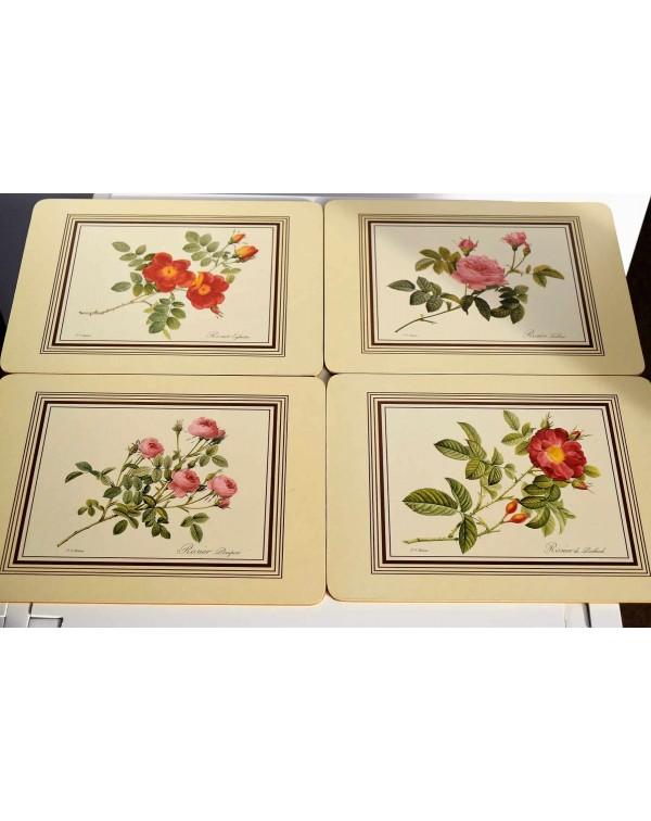 ROSES PLACEMATS NEW BOXED