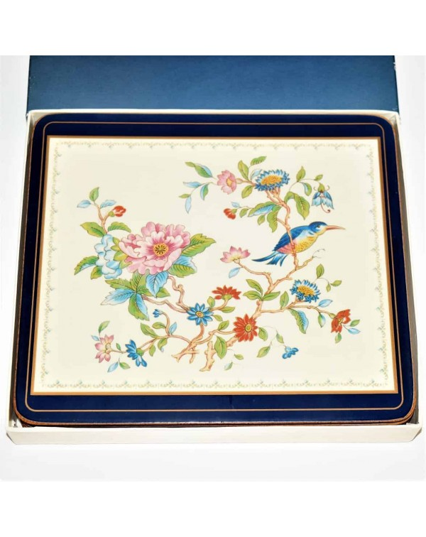 (SOLD) AYNSLEY PEMBROKE BOXED PLACEMATS