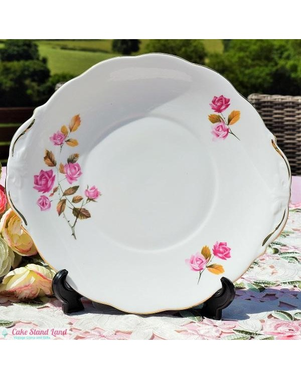 QUEEN ANNE CAKE PLATE