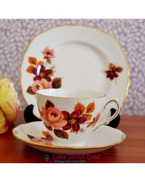 (OUT OF STOCK)  QUEEN ANNE TEA TRIO