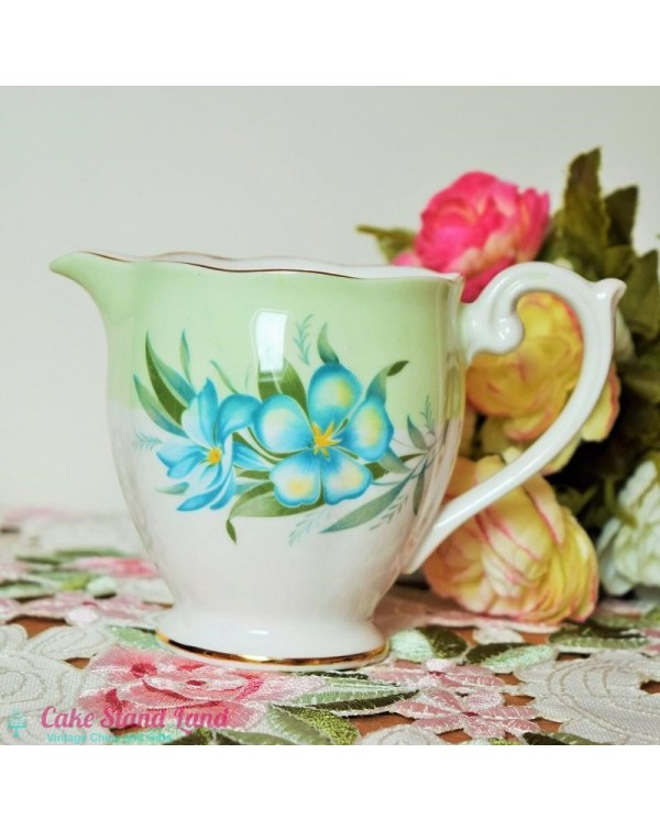 QUEEN ANNE MILK JUG FLORAL