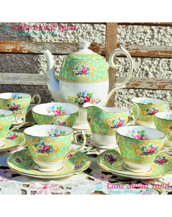 (OUT OF STOCK) QUEEN ANNE GAINSBOROUGH COFFEE SET