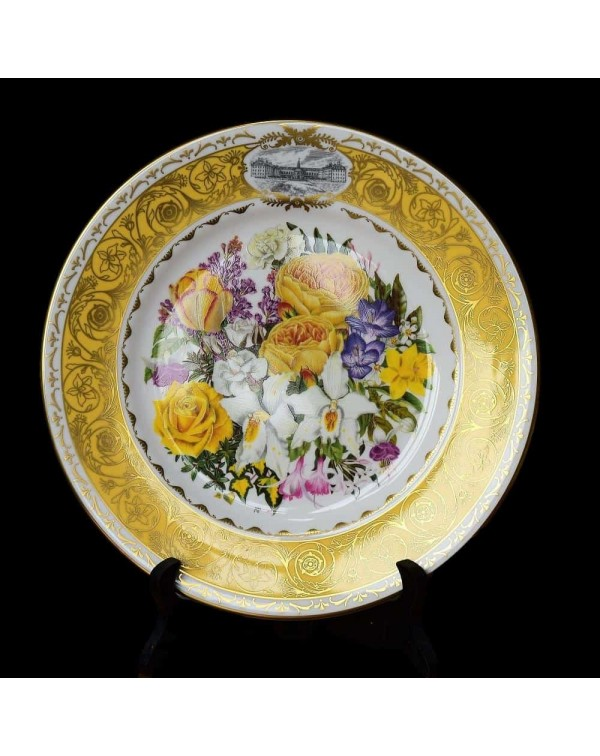 RHS 1997 CHELSEA PLATE ROYAL ANNIVERSARY BOUQUET