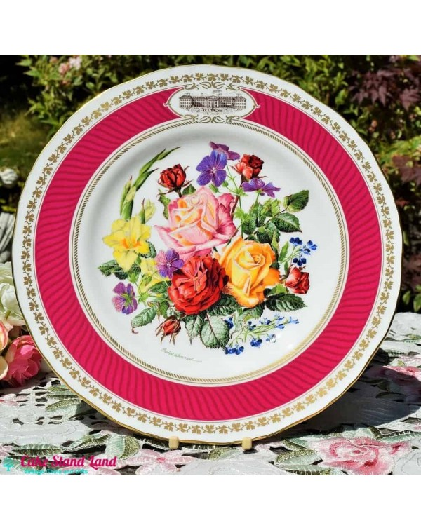 RHS ROYAL WORCESTER MAY TIME IN CHELSEA PLATE