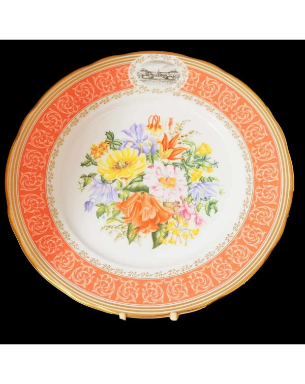RHS ELIZABETHAN CHELSEA COLLECTION PLATE