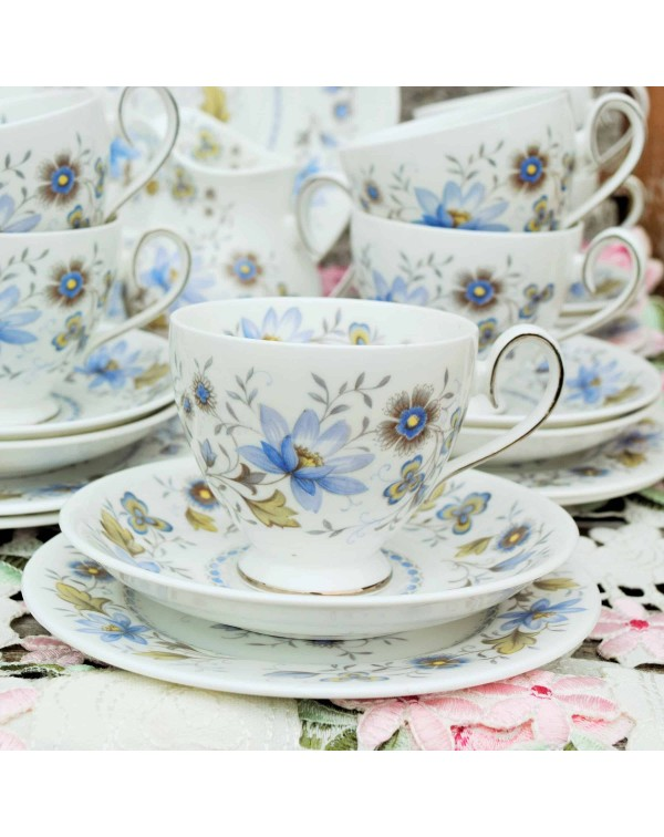 (SOLD) RIDGWAY MELISANDE TEA TRIO