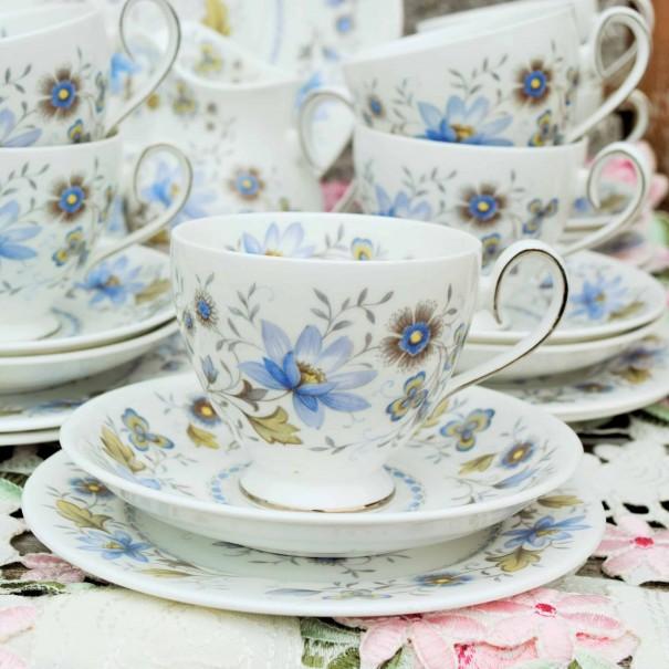(SOLD) RIDGWAY MELISANDE TEA TRIO