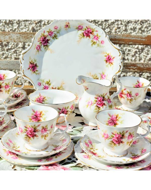 ROYAL ALBERT ROMANCE TEA SET