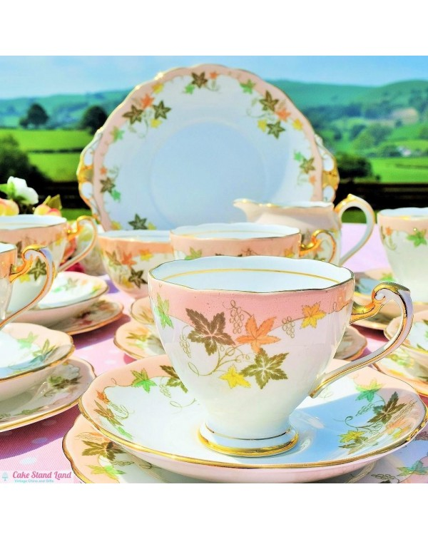 (OUT OF STOCK) ROSLYN EL DORADO TEA SET