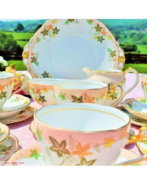 (OUT OF STOCK) ROSLYN EL DORADO TEA SET