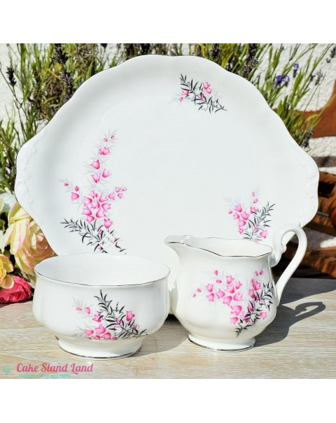 (OUT OF STOCK) ROYAL ALBERT PIXIE PINK TEA SET