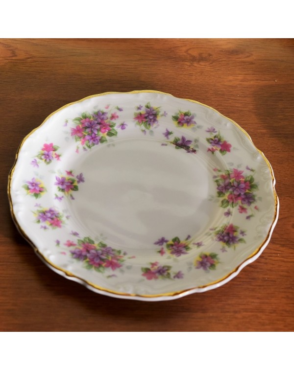 (OUT OF STOCK)  ROYAL ALBERT VIOLETTA TEA PLATE