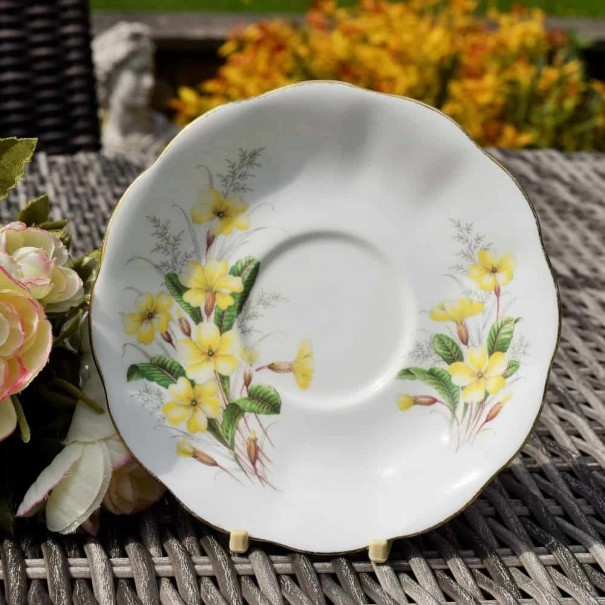 ROYAL ALBERT PRIMROSE TEA SAUCER