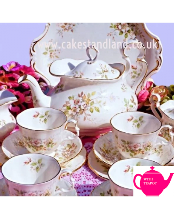 ROYAL ALBERT HAWORTH TEA SET