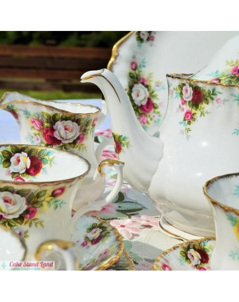 ROYAL ALBERT CELEBRATION TEA SET