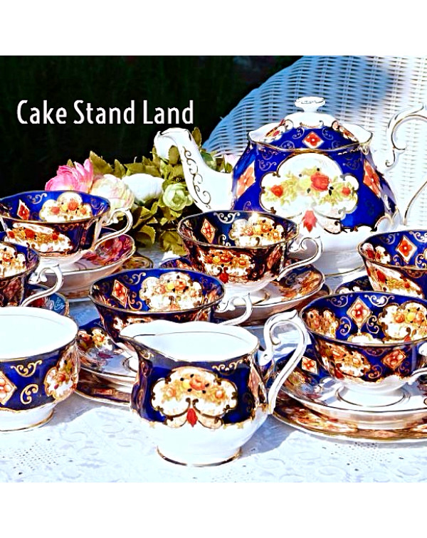 (OUT OF STOCK) ROYAL ALBERT HEIRLOOM TEA SET