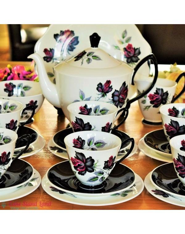 (OUT OF STOCK) ROYAL ALBERT MASQUERADE TEA SERVICE