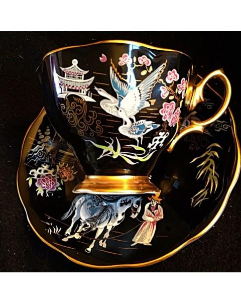 (OUT OF STOCK) ROYAL ALBERT ORIENTAL TEA SET