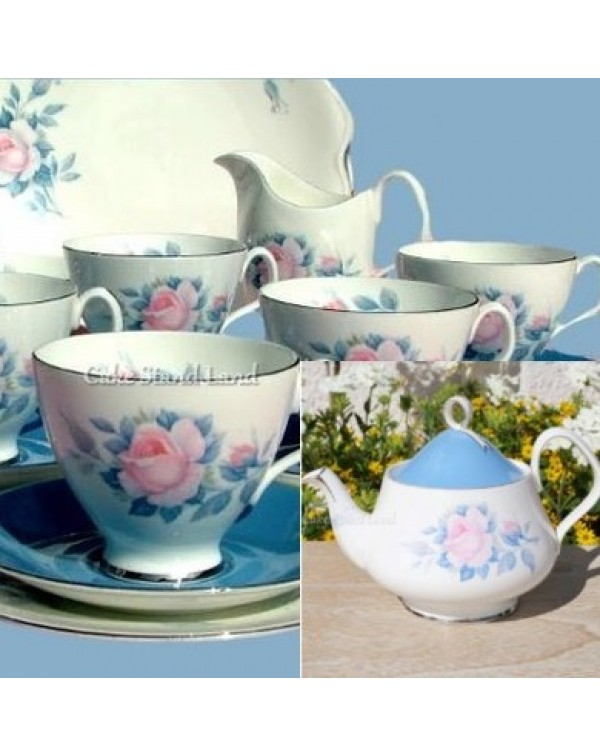 (OUT OF STOCK) ROYAL ALBERT SORRENTO TEA SET &...