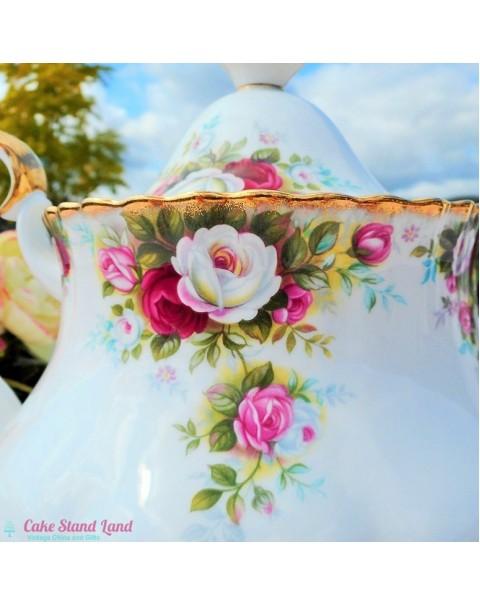 (SOLD) Royal Albert Celebration Teapot