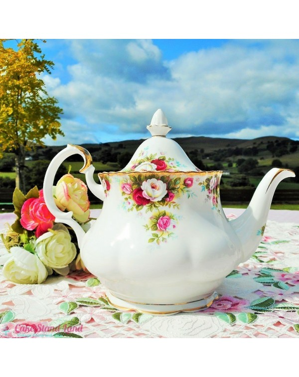 Royal Albert Celebration Teapot