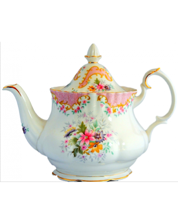 (OUT OF STOCK) ROYAL ALBERT SERENITY TEAPOT