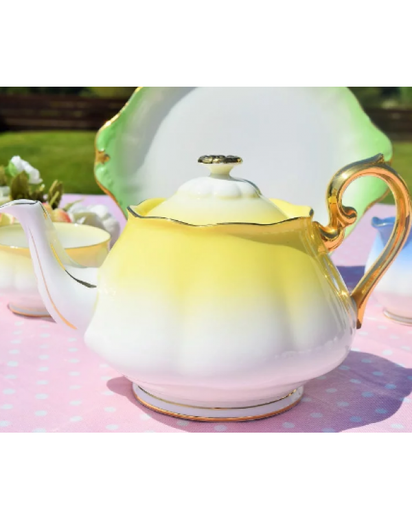 (SOLD) ROYAL ALBERT RAINBOW TEAPOT