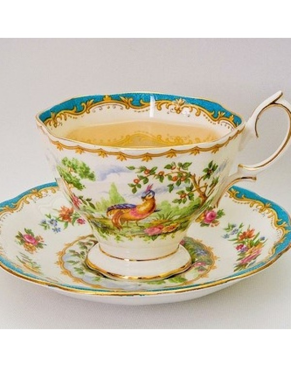 COMING SOON! ROYAL ALBERT CHELSEA BIRD TEA SET