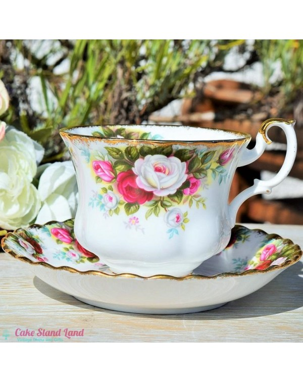 ROYAL ALBERT CELEBRATION CUP & SAUCER
